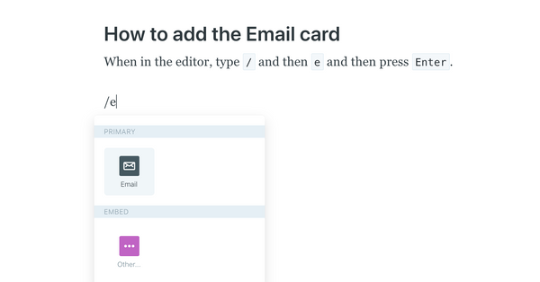 How to add an intro to your Ghost newsletter (and hide it from your blog)